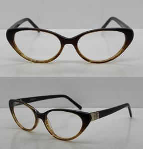 Cheap Vintage Hand Made Acetate Eyeglasses Frames For Ladies / Men, 48-18-140mm for sale