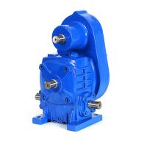 China WPWA100 Ratio 25/50/60 gear box manual gear box dc motor on sale