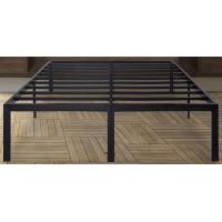 Sturdy king/queen size metal frame bed with ultimate strength and durability