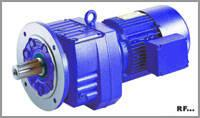 China RF helical gear reducer on sale