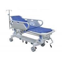 China Luxurious Folding Patient Transport Stretchers 520mm - 820mm High Low Range on sale