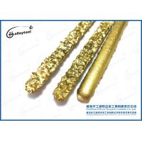Best 100% Raw Tungsten Carbide Welding Rod With Flux And Colored Coated Surface wholesale