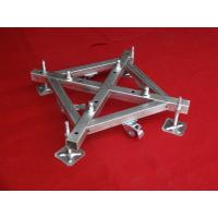 China 500mm x 500mm Iron Base Caster Truss Coupler For Aluminum Roof Truss wholesale