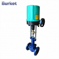 Buy cheap DN25-150 4-20ma 220v50hz Electric motor drive proportional Steam Control Valve from wholesalers