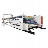 Best Computer Controlled Four Colour Flexo Printing Machine Lead Edge Feed wholesale