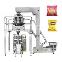 Best Multi Weighing Chips / Beans Packaging Machine 0.2-2kg Touch Screen Operate wholesale