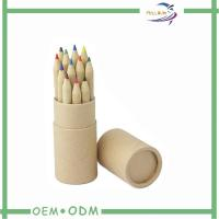China Rolled Edge handmade paper gift boxes Kraft Paper Tube For Pencil Package on sale