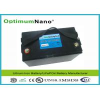 Best Powerful 100Ah Maintenance Free 12V Lithium Battery With Automatic Internal Cell Balancing wholesale