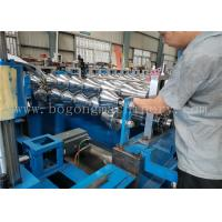 Best High Speed Steel Roof Tile Roll Forming Machine For Galvanized Sheet / PPGI wholesale