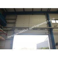 Best Commercial Overhead Sectional Sliding Industrial Garage Doors Factory Up Ward Fast Lifting Gate wholesale