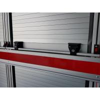 China Fire Rated Roller Shutter Doors Lift Bar Aluminum Extrusion Profiles on sale
