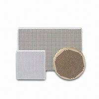 China Honeycomb Ceramic Filter with Excellent Thermal Shock Resistance and High Strength on sale