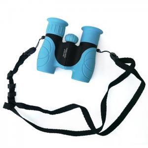 China Blue Mini 8x21 Kids Plastic Binoculars Shockproof Kids Toy Binoculars on sale