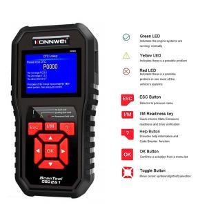 China Engine Code Reader KONNWEI KW850 , OBD2 Car Scanner Diagnostic Tools Digital on sale