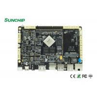 Industrial LPDDR3 Embedded System Board With RK3288 RK3399 WIFI LAN Optional