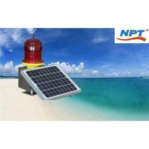 Best Supply Solar Power LED Navigation Buoy Use Warning Light wholesale