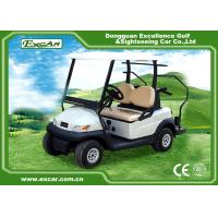 Best Excar Mini 2 Person Second Hand Golf Cars 48V Trojan Battery With Caddie Plate wholesale