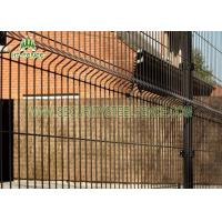 Best Pre - Galvanized Welded Mesh Fence PVC Coated Heat Resistant With 4 Bends wholesale