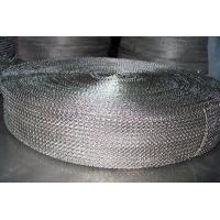 Cable Shielding Security Stainless Steel Knitted Wire Mesh For Exhaust Systems