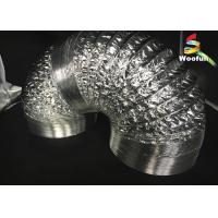 Best Grow Tent Aluminum Foil Ducting Polyester Sizes Customized Flexible Ducting wholesale
