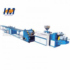 China Plastic PET Sheet Extrusion Line 300-2500mm Width PLC Program Control on sale