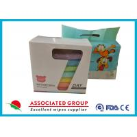 Buy cheap Color Box / Printing Polybag Baby Wet Cleaning wipes Small Promotion Package from wholesalers