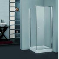 China Sell shower panel shower door S-5012  one door, one side panel in 5mm on sale