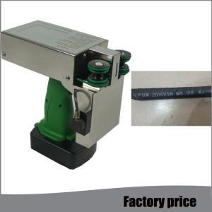China Handheld Inkjet Inkjet Marking Machine For Expiration Date Time Batch Number on sale