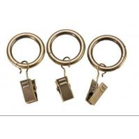 Best Iron curtain pole rings with clips wholesale