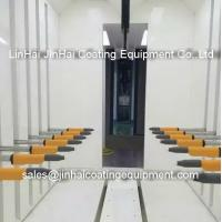 China High Quality Automatic Powder Painting Spray Booth Powder Paint Cabinet on sale