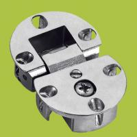 Best flap table invisible hinge Zinc alloy six holes hinges with Nickel finish wholesale