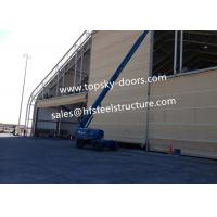 Best Hoist Up Fabric Doors With Mullions Multiple Door Versions Withstands High Wind Loads wholesale