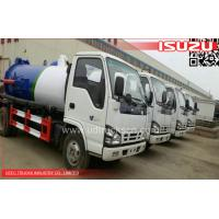 China ISUZU Sewage Vacuum Trucks on sale