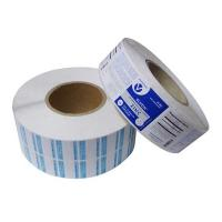 Best custom paper adhesive labels for glass bottle,Paper material adhesive label on roll forms made in China wholesale