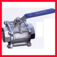 Best DN15 ~DN100 Floating Type Ball Valve / Stainless Steel Ball Valve Compact Structure wholesale