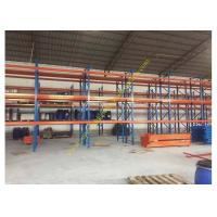 Best Corrosion protection Warehouse Storage Racks , Commercial Steel Selective Pallet Rack wholesale