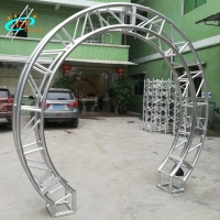 Best Circle Round Oval Goal Post Gateway Arch Truss For Wedding Backdrop wholesale