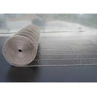 Best 304 Stainless Steel Wire Mesh Belt , Ladder Conveyor Belt For Ovens wholesale