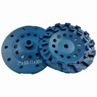China 4inch 5 inch 7 inch S-type Diamond Cup Grinding Wheel for concrete, granite abrasive on sale