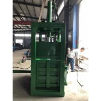 Best 40 T Hydraulic Type Waste Paper Baler With Pushplate Push Back Machine wholesale