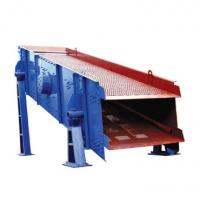 China Horizontal Single Deck Vibrating Screen , Coal Industrial Sieving Equipment on sale