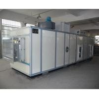 Best PLC Automatic Industrial Air Dehumidifier With Cooling Coil 6000m3/h wholesale