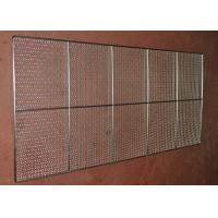 Best Food Grade Wire Mesh Tray , Wire Basket Cable Tray For Oven Food Processing wholesale