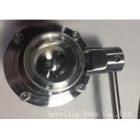 Best AISI304 Stainless Steel Sanitary Valves ASTM A270 Surface Polished wholesale