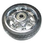 Best 5 inch solid rubber wheels wholesale