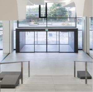 Best Stainless Steel Frame auto sliding glass door wholesale