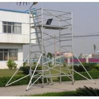 Best Adjustable Lightweight Aluminium Mobile Scaffold / Roof Scaffold For Cleaning Window wholesale