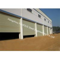 China Fire Rated Electric Rolling Shutter Door Exterior Dustproof Roll Up Door For Industry on sale