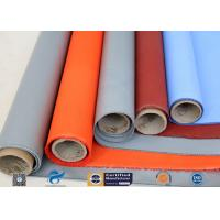 Best Plain Weave Thermal Insulation Materials Silicone Coated Fiberglass Fabric wholesale