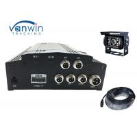 Best H.264 Vehicle Mobile Dvr Kit 4ch Car Dvr Camera System With 3g Gps Wifi wholesale